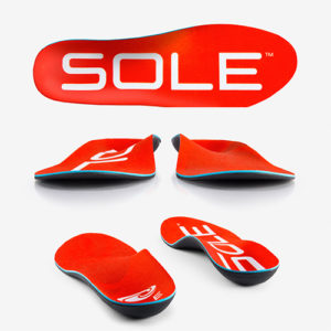 Sole active medium insoles