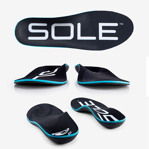 Active thick shoe insoles