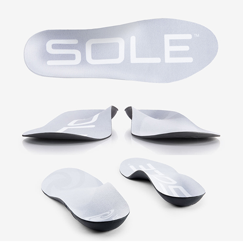 active thin flat foot insoles