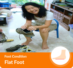 flat foot conditions and treatment in Singapore